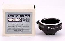 Vivanco  Lens Nikon    to Camera C MOUNT BOLEX Adapter