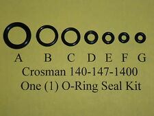 Crosman Model 140-147-1400 Air Rifle Pellet Gun One  Complete O-Ring  Seal Kit