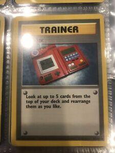 pokemon cards 1999 pokedex trainer 87/102