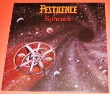 Pestilence: Spheres LP Vinyl Record + Poster 2017 Hammerheart UK HHR 2017-16 NEW