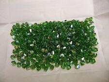 72 swarovski crystal bicone beads,6mm fern green AB #5328