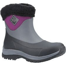 Muck Boots Arctic Apres Winter Boots Slip-On Casual Short Womens Wellingtons