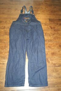 DICKIES WOMENS OVERALLS SEQUENCE SIZE 24 PLUS EUC