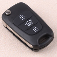 Car Case Remote Flip Fit for KIA Rondo Sportage Soul Rio Key 3 Buttons Shell Fob