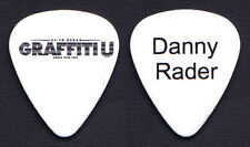 Keith Urban Danny Rader White Guitar Pick - 2018 Graffiti U World Tour