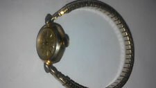 Womens Gold Tone Mechanical Timex Watch