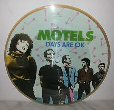 """7"""" 45 GIRI MOTELS - DAYS ARE OK / SLOW TOWN - PICTURE DISC"""