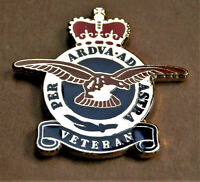 RAF VETERAN ALBATROS  ''PER ARDUA AD ASTRA'' ENAMEL PIN BADGE REMEMBRANCE BADGE