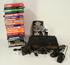 Atari 2600 Woody sx2600 6 Switch & 21 Boxed  Game Bundle Tested and Working