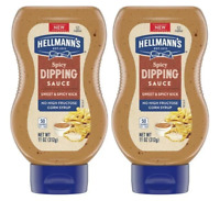 (Pack of 2) Hellmann's Condiment Spicy Dipping Sauce 11 OZ