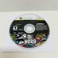 DJ Hero (Microsoft Xbox 360, 2009) Disc only ***Free Shipping!