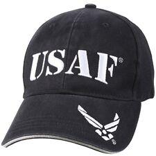 US Air Force Ball Cap Korea Vietnam OEF OIF Vet Gulf War Dark Blue USAF Hat