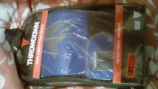 MMA gloves XL blue throwdown pro glove 100% genuine leather martial arts