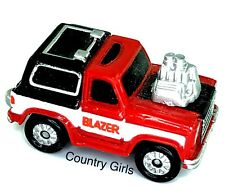 Micro Machines Chevy Blazer Hot Rod Chevrolet Truck Sport Utility Red Car Truck