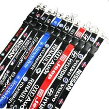 Auto Car Logo Neck Strap Lanyard for Keyring Key Chains Cellphone Cord ID Card