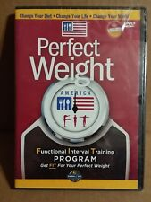 Perfect Weight America DVD Workout Training (A-6)