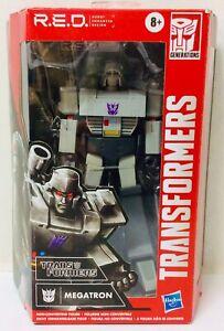 Transformers R.E.D. (Robot Enhanced Design) MEGATRON Figure - Hasbro Ages 8+ NEW