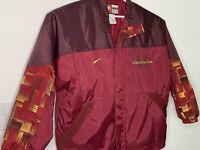 VTG Nike Seminoles jacket FSU Florida State University winter coat maroon XXL