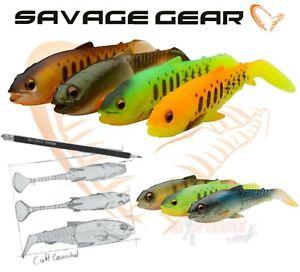CRAFT CANNIBAL SHAD 12,5cm 1Pcs  PADDLETAIL Savage Gear Fishing Lures Pike Chub