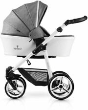 Venicci Pure 3 in 1 Travel System Denim Grey With Car Seat Bag & Raincover
