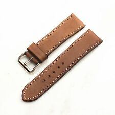 20mm wristwatch strap Watch bands Veg-tan Leather hand dyed italy leather