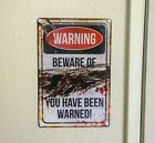 Funny Metal Sign, Halloween Decor, Halloween Door Decor, Halloween Outdoor Decor