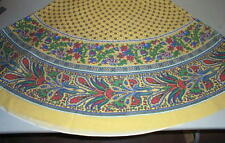 MARAT Avignon French Provencal Round Table Cloth