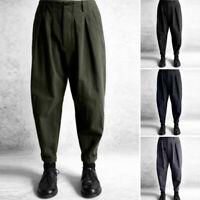ZANZEA Femme Pantalons Casual en vrac Harlan Style Taille elastique Oversize