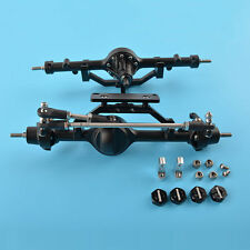 Complete Front and Rear Axles for 1/10 RC Crawler D90 SCX10 RC4WD Yota 2 #1561
