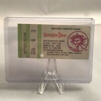 Grateful Dead Knickerbocker Arena Albany NY Ticket Stub Vintage March 25 1990
