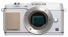 Olympus PEN E-P5 Gehäuse / Body weiß / white    B-Ware 1166 Auslösungen