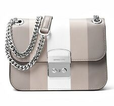 MICHAEL KORS Borsa / Borsa Sloan EDITOR MD CATENA Center STRISCE P.GRIGIO /
