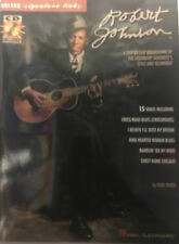 """Robert Johnson""     guitar tab signature licks with CD"