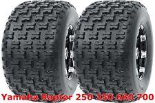 Yamaha Raptor 250 350 660 700 Set 2 Rear 20x10-9 20x10x9 Sport ATV Tires