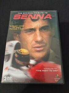 The Official Tribute To Senna - DVD, 2 Disc + Colour Booklet - Ayrton Senna