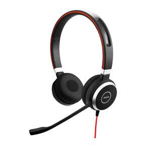 Jabra Evolve 40 MS Stereo HD Audio USB Headset - 6399-823-109