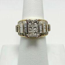 $5000 Zales 3ct Diamond 14k Gold Engagement Ring (6010)