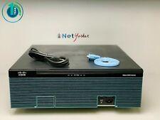 Cisco CISCO3945E/K9 • C3900-SPE250/K9 IP Base Router ■ SAME DAY SHIPPING ■