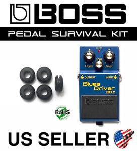 BOSS BD-2 Blues Driver Guitar Pedal Grommet Rubber O-Ring Survival Kit (5-PACK)