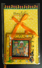 "New! Mary Engelbreit Mary & Co. Magnetic Hanging Halloween Board Frame 4""X 4"""