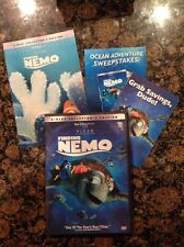 Finding Nemo (Dvd,2003,2-Disc Set) Authentic Us Release Scratch Free