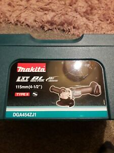 MAKITA 18V DGA454 ANGLE GRINDER box only with insert