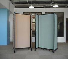 """Versare Room Divider 360° 6"""" x 25"""" F Powder Blue"""