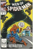 Web of Spider-Man #39 : Marvel Comics : June 1988