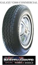 1958015 185X15 195X15C 195x80r15 WHITEWAL GALAXY 8PLY 34MM WW TRANSIT VAN VW T2