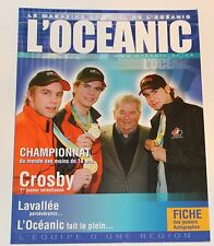 Sidney Crosby  03-04 L'OCEANIC OFFICIAL YEARBOOK PITTSBURGH PENGUINS