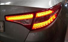 LED Rear Tail Lights Lamp Assembly 4P 1Set For 11 12 Kia Optima K5 Hybrid