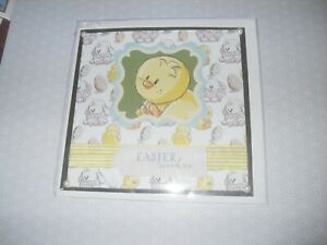 Children's Easter Card - Chick / Rabbit - Handmade with Envelope - no words (56)