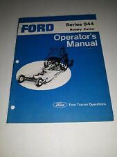 Ford Series 944 Rotary Cutter Operator's Manual