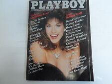 PLAYBOY DECEMBER 1985 BARELY THERE CAROL FICATIER BARBI BENTON (788)